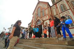 A los pies de la Catedral San Marcos