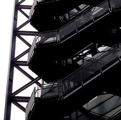 up/down (No Great Hurry) Tags: steps architecturalabstract architectural abstract constructuralart london liverpoolstreet iron metal block externalsteps stairs staircase fireescape fire escape lines abstraction pov perspective construction building ngh robinmauricebarr 1000views 1000 amateur amateurphotographer robinmauricebarralsoknownasnogreathurry art photoart capital uk britain gb greatbritain lndn england square squared cube robinbarr photo image photographic urban urbanart squareformat archistract structure architecture exposure flickr pattern patterns patternsinbuildings unitedkingdom escaleras londonarchitecture londonbuildings londonstructures nogreathurry