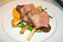 Rack of Lamb, Sweet Potato Mash, New Potato, Green Beans (Tony Worrall Foto) Tags: uk england food make menu yummy nice dish photos tag cook tasty plate eaten things images x meat made eat foodporn add meal lamb taste dishes cooked tasted chops grub iatethis foodie flavour plated foodpictures ingrediants picturesoffood photograff foodophile 2015tonyworrall