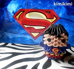 SUPER HOMEM - Kimi Store (Kimi Nakayama) Tags: art love work paper paperart origami like modular papel loveart loveorigami origami3d origamiwork
