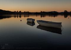 Loch Rusky (GenerationX) Tags: blue trees water sunrise reflections landscape boats dawn mirror scotland fishing unitedkingdom scottish neil calm buoys trossachs bouys barr portofmenteith lennieston lettermuir