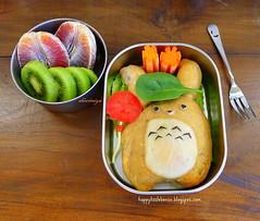Totoro Calzone Bento