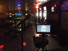 "Zoo Karaoke at Legends Bar and Grill in Las Vegas • <a style=""font-size:0.8em;"" href=""http://www.flickr.com/photos/131449174@N04/16761259377/"" target=""_blank"">View on Flickr</a>"