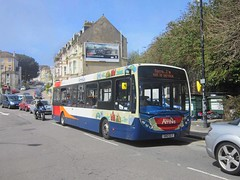 Stagecoach in Hastings 36500 GN12CLY (harryjaipowell) Tags: bus coach arrows hastings dart stagecoach outofservice alexanderdennis 36500 enviro200 stagecoachinhastings b37f gn12cly cornwallisterrace