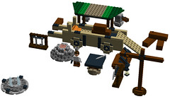 Diablo III: Blacksmith (See Music) Tags: new 2 3 digital lego designer iii bricks system ii diablo act ldd tristram i haedrig