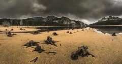 A Natura (Corsica) (Mathulak) Tags: mountain lake storm water clouds montagne sand nikon corse corsica natura samyang lospedale diamondclassphotographer flickrdiamond truncs anatura nikond5300