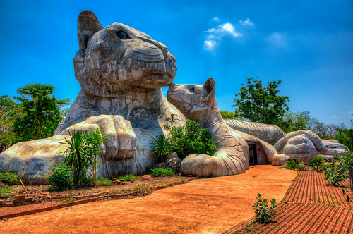 Tiger-shaped Buildings