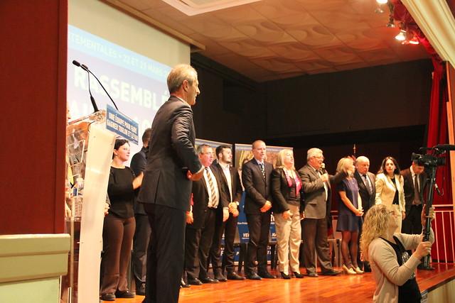 Départementales 2015 : Grande Réunion publique Salle Mozart