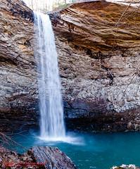 Ozone Falls (mikerhicks) Tags: panorama usa geotagged spring unitedstates hiking tennessee waterfalls ozone rockwood ptgui craborchard cumberlandtrail tennesseestateparks ozonefalls cumberlandmountainstatepark ozonefallsstatenaturalarea canon7dmkii sigma18250mmf3563dcmacrooshsm geo:lat=3588025167 geo:lon=8481032833