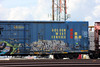 03242015 008 (CONSTRUCTIVE DESTRUCTION) Tags: train graffiti streak tag boxcar graff sworn moniker sworne