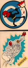 1960's Impko Ghost decals (Donald Deveau) Tags: ghost axe monsters decal famousmonsters executioner impko