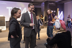 re:publica TEN (Florian Pronold) Tags: berlin deutschland politik deu