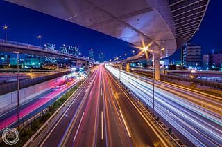 Stream of Tokyo Wangan Expressway