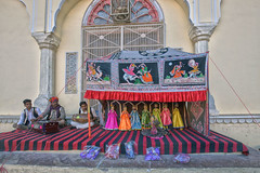 Kathputlis in Rajasthan (David Clay Photography) Tags: india puppets jaipur marionette rajasthan kathputlis