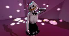 She's Strange, But I love it  ( ~ Ayako Hannu~ ) Tags: strange weird kawaii nocciola kowai ponpon {nyan}