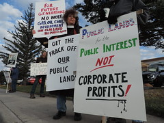 DSCN6595 (WildEarthGuardians) Tags: protest wyoming climate publiclands leasing oilandgas fracking keepitintheground