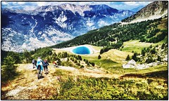 Mountainbiking - Serre Chevalier Valle - French Alps - France (vicmlr) Tags: alpes team racing downhill dh mtb pro commencal frenchalps serrechevalier briancon descente blacktrack summer2015