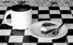 ooo Pie BW (Rob G Ski) Tags: bw pie crozet mudhouse 2016 50mmf17 worldpentaxday singlein