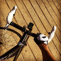 Last day for a while that these arms will feel the sun... (justinknol) Tags: autumn canberra iphone cervelo justinknol