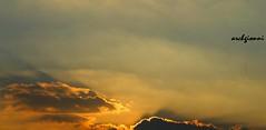 solo cielo (archgionni) Tags: light sunset sky sun nature clouds tramonto shadows natura ombre sole luce
