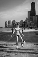 Towering (THOMAS-MOORE) Tags: blackandwhite chicago skyline soccer hancock buiding