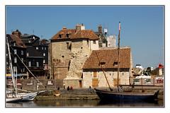 Heritage Hornfleur (Audrey A Jackson) Tags: windows sea sky people lighthouse france history buildings boats harbour steps hornfleur canon60d