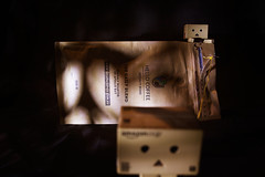 Hello Coffee! (Aerokev) Tags: light shadow coffee bag paper toys java beans australia melbourne victoria string effort caffeine danbo hellocoffee