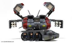 Dropship-APC-04 (dschlumpp) Tags: lego moc dropship apc marines aliens