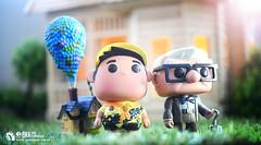 up (Thai Toy Photographer) Tags: house anime up sunshine toys model russell outdoor uncle disney pop pixar carl thai figure figurine figures toyphotography funkodisney kenksiri