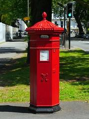 Cheltenham, Gloucestershire (Oxfordshire Churches) Tags: cheltenham gloucestershire panasonic lumixgh3 england uk unitedkingdom johnward royalmail postboxes letterboxes mailboxes pillarboxes vr pb100602 gl503 jwpenfold penfold cochranegroveco hexagonal victorian listedbuildings gradeiilisted