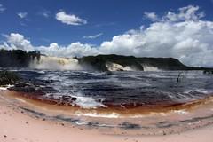 Canaima Lagoon (Notkalvin) Tags: lake beach southamerica water waterfall outdoor venezuela falls shore angelfalls canaima canaimalagoon adventuretourism mikekline notkalvin notkalvinphotography