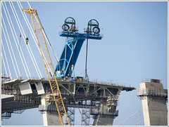 QF south lift 2 (The Anti-Sharpness League) Tags: jadmor olympus queensferry crossing forth road bridge fife scotland