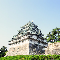 21780001 (redefined0307) Tags: castle film japan mediumformat slidefilm nagoya  aichi    bronicas2 zenzabronica provia400x  zenzabronicas2