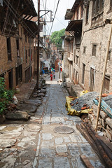 Narrow Streets (Mark S Weaver) Tags: kathmandu nepa