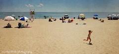 A Day at the Beach (mblakephoto) Tags: ocean summer people beach water children fun outdoors sand capecod massachusetts running umbrellas cba iphone craigvillebeach craigvillebeachassociation