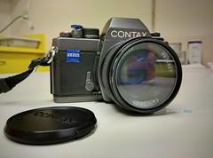 My new toy! (//ZERO) Tags: google contax cameraporn nexus6 contaxs2b androidphotography googlenexus6 motorolanexus6