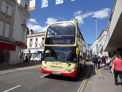 Brighton & Hove 674 YN07 UOG John Constable on 29 (sambuses) Tags: johnconstable brightonhove 674 goaheadgroup yn07uog