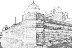 India - Delhi - Red Fort - 110c (asienman) Tags: india delhi redfort asienmanphotography asienmanphotoart mughalresidence