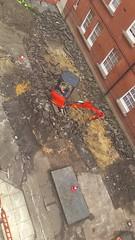 VIDEO Stepney Green Courtyard works by Wedge Eng (Carol B London) Tags: tarmac courtyard charcoal e1 wedge sgc ids stepney londone1 stepneygreen newlayout newsurface charcoalbricks steneygreencourt wedgeengineering