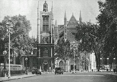 Parliament Square (Leonard Bentley) Tags: uk london westminsterabbey 1940 parliamentsquare 1942 1941 1939 imperialwarmuseum stmargaretschurch georgecanning northdoor ministryofsupply cannonrow warmateriel canningenclosure surfacebombshelter theregalartphotographcoltd