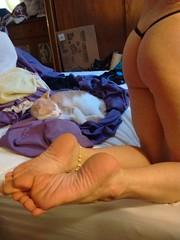 I need spanked (ericgieseking1) Tags: feet naked nude foot barebutt bare butt cheeks barefoot sole bareass myassfeet