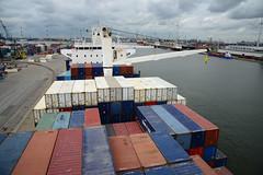 Celina Star (DST_1583) (larry_antwerp) Tags: 9210086 celinastar cmacgm psaterminal container antwerp antwerpen       port        belgium belgi          schip ship vessel