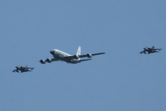 Formation Lead by Boeing RC-135W (Old Buck Shots) Tags: egsv ks keith sowter