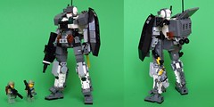 CSA - MK-01B Perditrix Ground Assault Type (ExclusivelyPlastic) Tags: robot lego military jungle scifi mecha mech