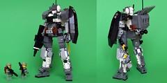 CSA - MK-01B Perditrix Ground Assault Type (ExclusivelyPlastic) Tags: robot lego military jungle scifi mecha mech