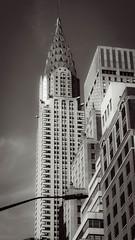 Chrysler Building, around 4:00 PM (Jeffrey) Tags: nyc newyorkcity sunlight newyork architecture buildings design afternoon manhattan may chryslerbuilding 2016