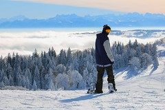 Mtabief Snowboarder (marionvdw) Tags: snowboarder mtabief winter hiver neige snow
