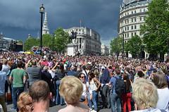 Crowd (G Reeves) Tags: show life street city carnival people urban men london outside town rainbow nikon streetphotography pride parade event lgbt metropolis rainbowflag londonpride garyreeves nikond5100
