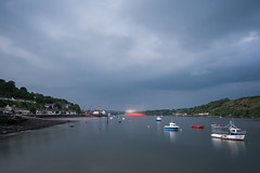 River Lee at Monkstown (redape99_) Tags: longexposure ireland sea landscape coast boat cork stormy