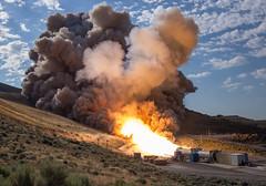 Booster Test for Space Launch System Rocket (NHQ201606280018) (NASA HQ PHOTO) Tags: usa utah nasa promontory testarea billingalls spacelaunchsystemsls qualificationmotortestqm2